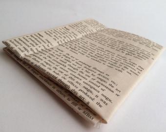 Fat Quarter - Dictionary Text Fabric
