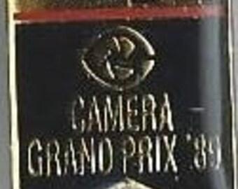 Nikon F4 Camera Grand Prix '89 Pin