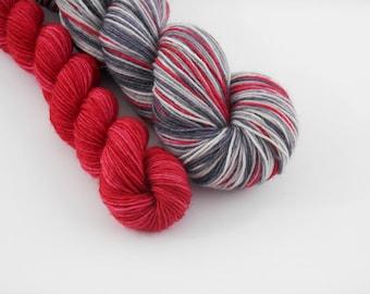 LOVE SOCK self-striping, 023, merino nylon sock yarn,100g