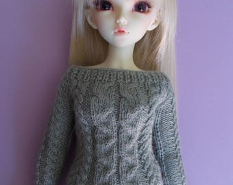Handmade outfit pullover for MSD and Minifee