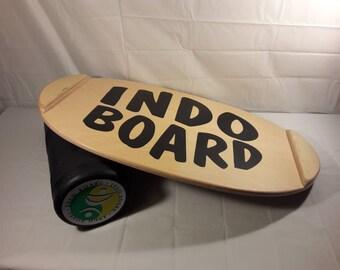 Vintage 90s Original Indo Board Balance Trainer