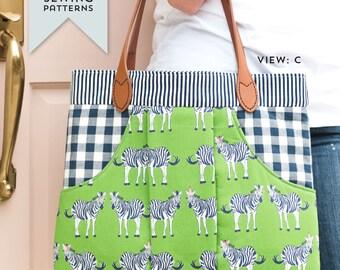 March Bag Sewing Pattern PDF