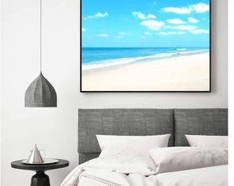 Tropical Beach Print, Coastal Decor, Digital Download, Tropical Beach, Tropical Beach Photo, Beach Decor, Tropical Printable, Turquoise