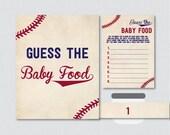 Baseball Baby Shower Game...