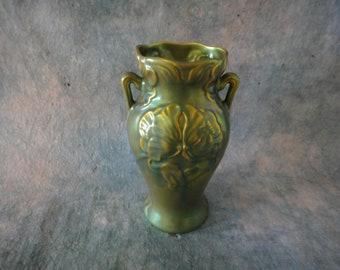 Beautiful Zsolnay Art Nouveau Jugendstil Style Vase