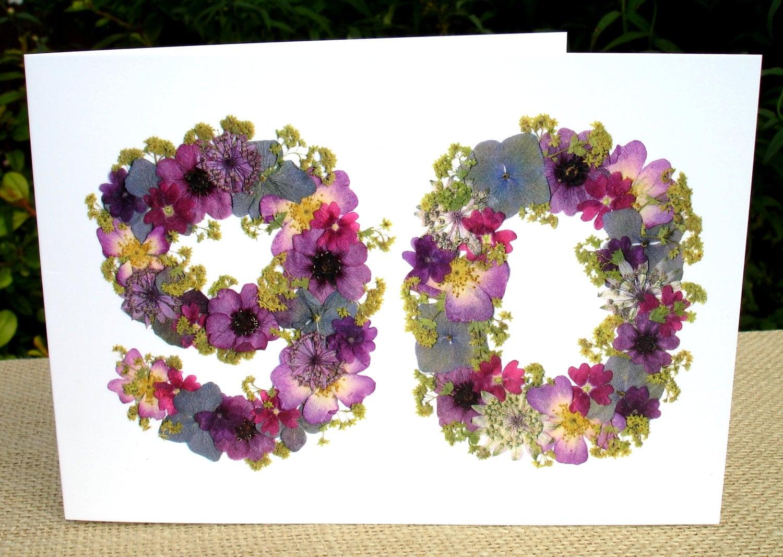 90th Birthday Card Mum 90th Birthday Dad 90th Nan 90th