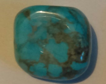 Natural Tibetan turquoise tumblestone,lovely colour