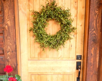 Summer Wreath-Eucalyptus Wreath-Farmhouse Decor-Outdoor Wreath-Farmhouse Wreath-Fall Door Wreath-Outdoor Wreath-Year Round Wreath-Gifts