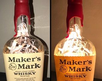 Maker's Mark Kentucky Bourbon Whiskey Bottle Light