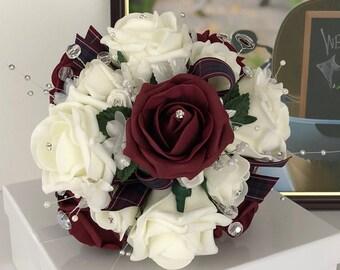 Pride of Scotland Bridesmaid Bouquet XS