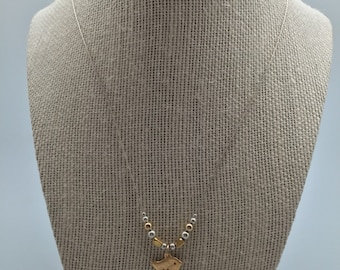 Gold filled sweet bird necklace