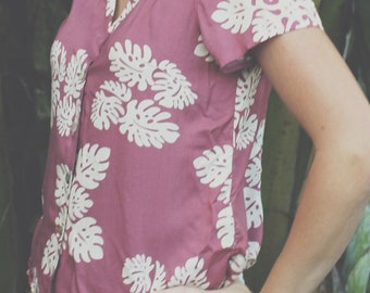 Vintage Leina'ala Aloha Shirt