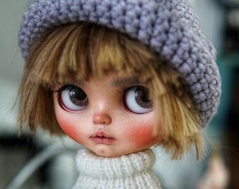 Blythe Doll Hand Knit Elf Hat - 5 colors