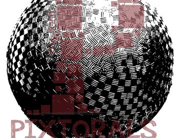 Kickball ball!  eps, svg, dfx, pdf and jpeg, png, sketchy, Screen Printing graphics, Clip Art, Kickball