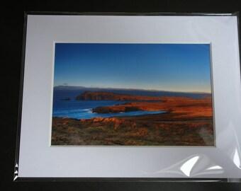 Photo de Slea Head, Dingle, Co. Kerry, 6 x 4, dans un montage Photo 8 x 6