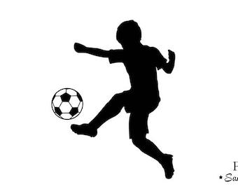 soccer ball fusible flex boy or girl