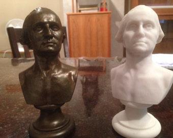 George Washington Mini Bust - MarbleCast