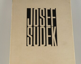 Josef Sudek - Photography 1956 (Fotografie) - first edition
