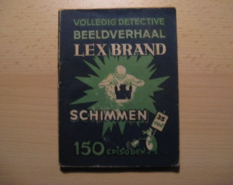 Vintage cartoon Lex Brand, Schimmen ... 1948