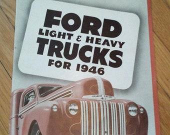 FORD TRUCK 1946 brochure