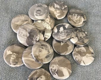 random Lucille Ball button, surprise button! 1 inch pin back button, I love Lucy button