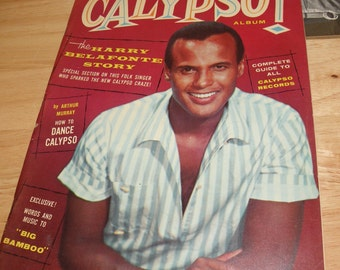 CALYPSO 1957 Harry Belafonte Rare Album Magazine