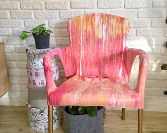 Pink Decoration Chair