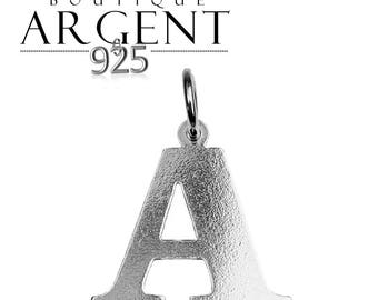 Letter charm to initial 925 sterling silver initials