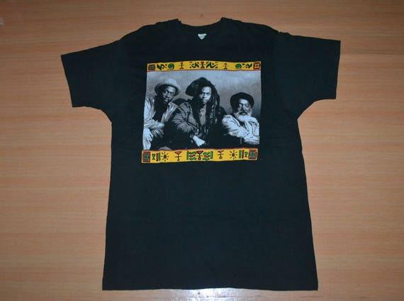 rare 80s Concert PULSE Roots Tour Vintage 90s shirt promo T gig Reggae Victims 1991 STEEL t shirt Pwqq70