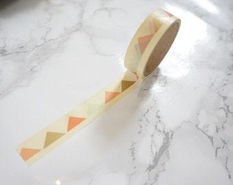 Geometric Pattern Washi Tape