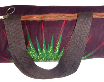 Cotton bowling bag and wax