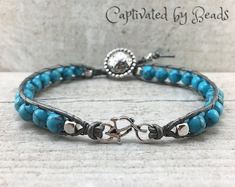 bead leather wrap bracelet silver charm bohemian wrap bracelet for women boho bracelet beaded bracelet leather wrap bracelet gypsy bracelet