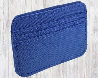Handmade in CA. Polyester Vegan Card Holder Wallet by NIC GIOR