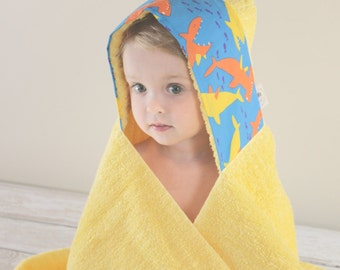 Beach Gift For Kids - Hooded Towel - Towel Hoodie - Boys Hooded Towel - Baby Bath Wrap - Toddler Hooded Towels - Boys Towel - Easter Gifts