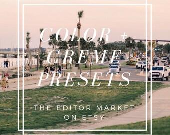 Color + Creme Presets - TheEditorMarket