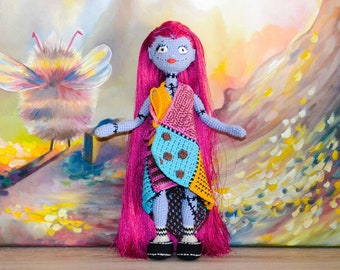 Sally Finklestein / Amigurumi doll / Crochet doll / Handmade doll / Sally Skellington / Monster doll