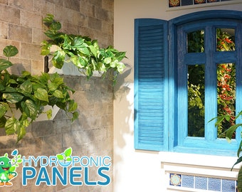 Autonomous Hydroponic Wall Garden and Grow System, Hydroponic Panels