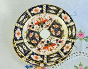 Two Royal Crown Derby dessert/ bread plates Imari plates Imari 2451 & Imari plates | Etsy