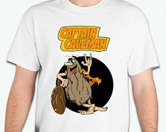 Captain Caveman  shirt