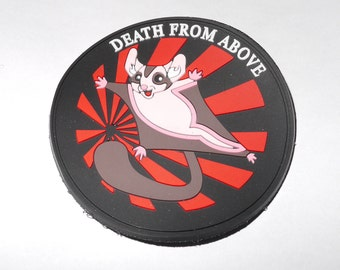 Death From Above, Sugar Glider, Morale Patch