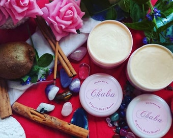 Geranium rose body cream. ORGANIC. Suitable for vegans.