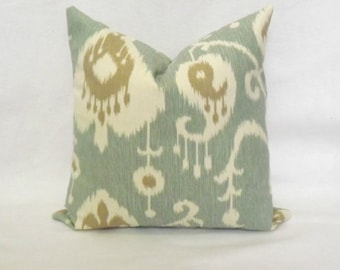 Decorative Java Spa Pillow Cover -18x18 inch - BOTH SIDES - Decorative Cover - Throw Pillow - Accent Pillow - Toss Pillow Cover