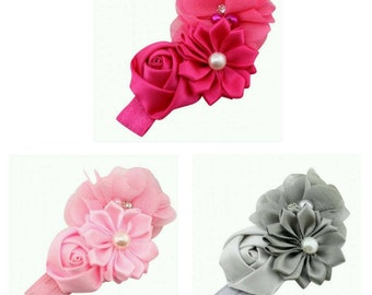 Babies Kid's Headband Flower, Rose