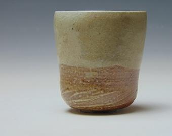Salt and soda fired tea bowl