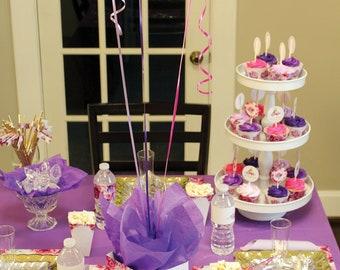 Princess Decorations | Princess Centerpiece, Princess Printables, Princess Birthday, Party Supplies, Decor, INSTANT DOWNLOAD, DIGITAL