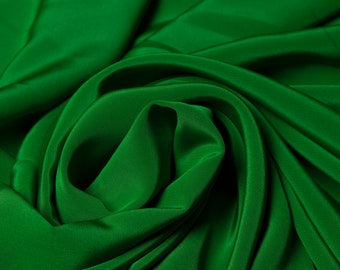 Polyester Fabric Emerald Green Fabric Upholstery Fabric The Meter Fabric Apparel Fabric Bridal Fabric Fashion Fabric Clothing Craft Supplies