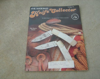 1980 September the national knife collector  magazine