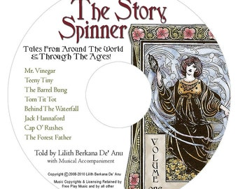 "MP3 Download - ""Mr. Vinegar"" from The Story Spinner Audio CD"