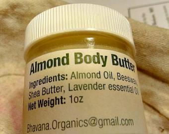 Almond Body Butter