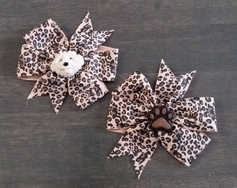 Set of 2 Dog Collar Bows